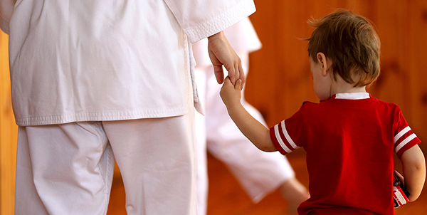 mother son martial arts
