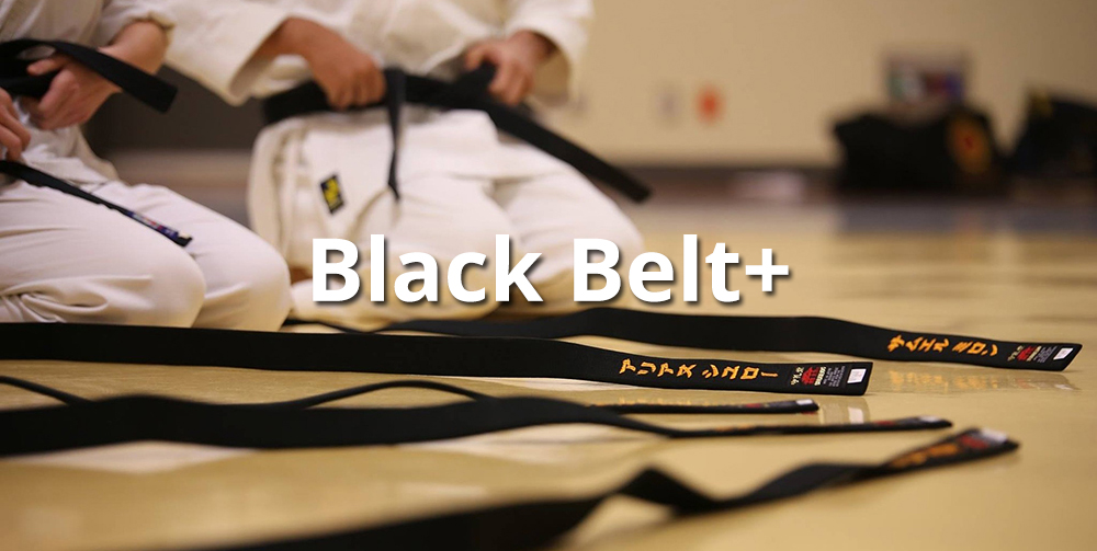 black belt training